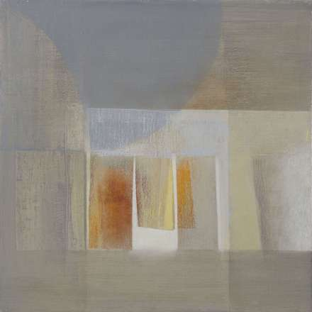 Ralph Freeman Unison oil on linen 55x55cm2